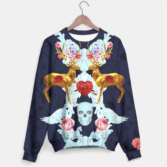 Miniatur Deer heart sweater, Live Heroes