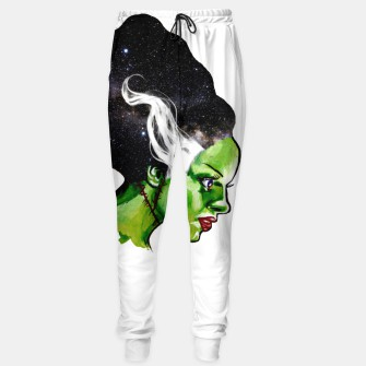 Thumbnail image of Frankenstein's Space Bride Sweatpants, Live Heroes