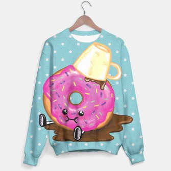 Thumbnail image of Kawaii Clumsy Donut Sweater, Live Heroes