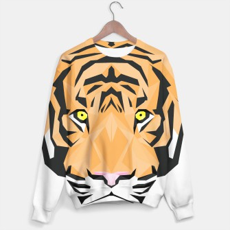 Miniaturka Low Poly Tiger Sweater, Live Heroes
