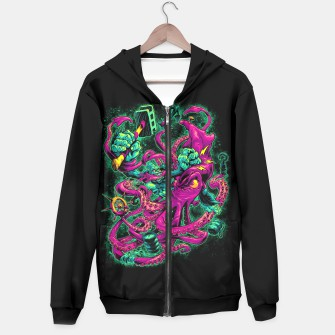 Thumbnail image of GORILLA VS. ARCHITEUTHIS hoodie, Live Heroes