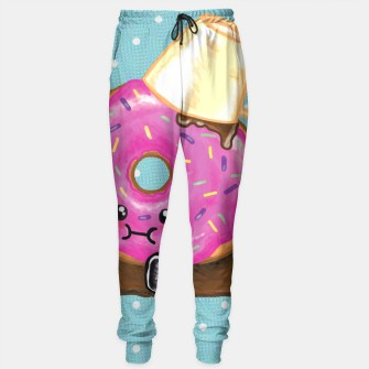 Thumbnail image of Clumsy Donut Sweat Pants, Live Heroes
