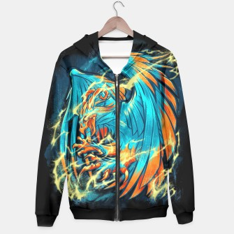 Thumbnail image of BIRD OF THUNDER hoodie, Live Heroes