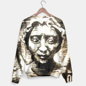 Thumbnail image of Weeping Angel Dr Who Sweater, Live Heroes