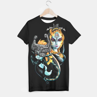 Thumbnail image of Fan Art Midna Tee Shirt, Live Heroes