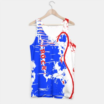 Thumbnail image of Red White And Blue Rock Tank Top, Live Heroes