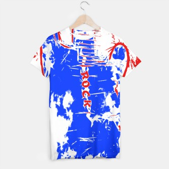 Thumbnail image of Red White and Blue Rock T-shirt, Live Heroes