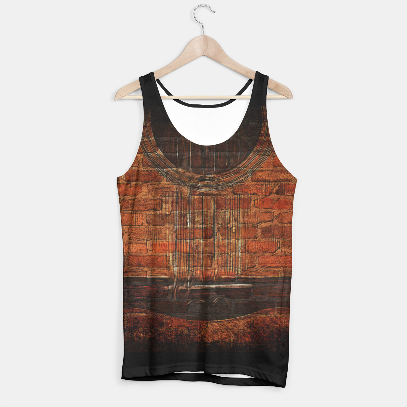 Image of Acoustic Wall Tank Top - Live Heroes