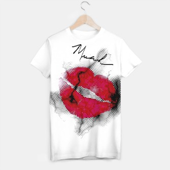 Thumbnail image of Red Lips T-shirt, Live Heroes