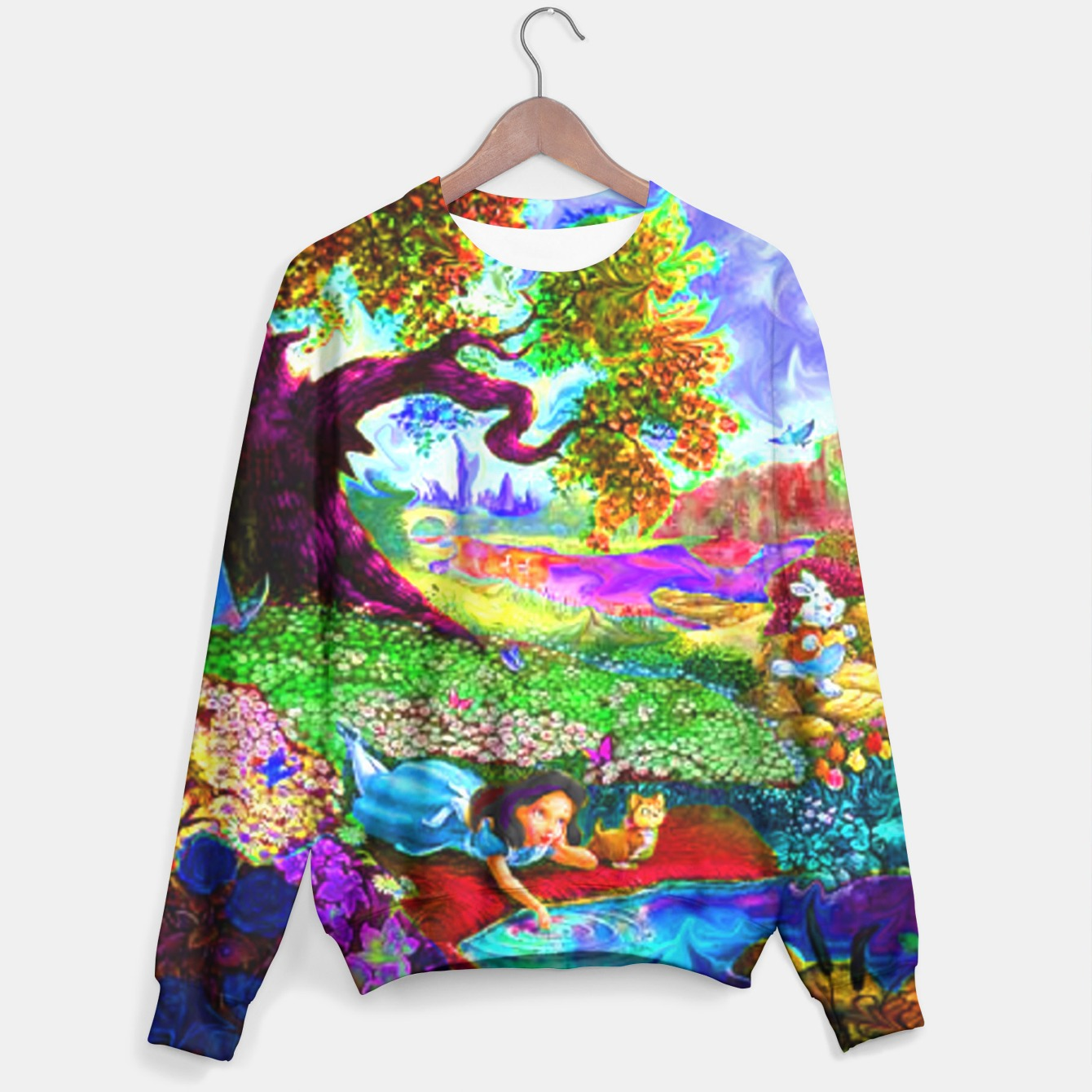 Alice In Wonderland Sweater Live Heroes