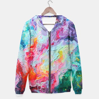 Thumbnail image of Elements. Colorful Flow Abstraction. Hoodie, Live Heroes