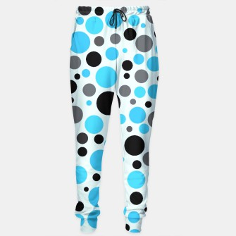 Miniatur turquoise and gray polka, Live Heroes