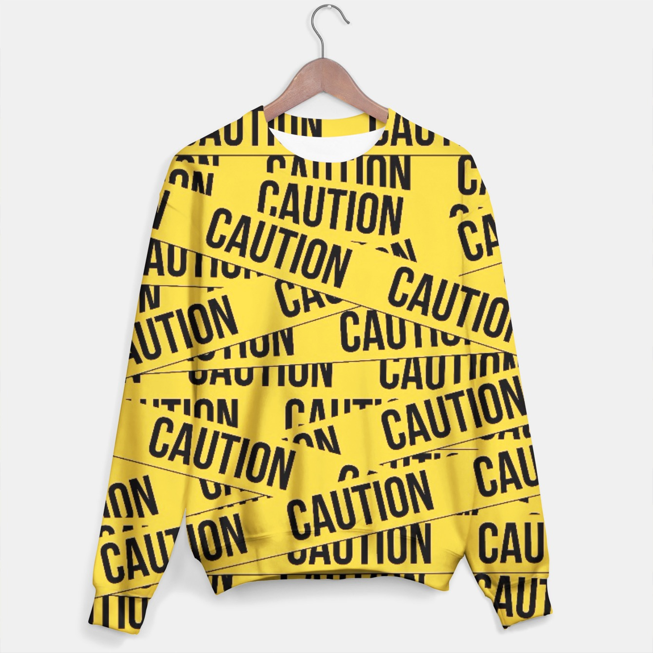 Image of CAUTION Sweater - Live Heroes