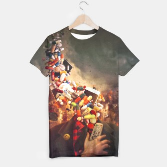 Thumbnail image of Comfortably Numb Camiseta, Live Heroes