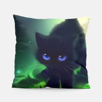 Thumbnail image of Cute Kitten Pillow, Live Heroes