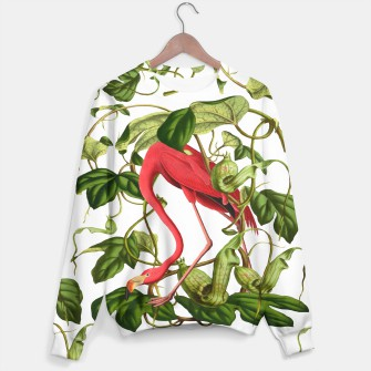 Thumbnail image of Flamingo Sweater white, Live Heroes