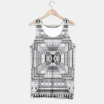 Thumbnail image of Lines Tank Top, Live Heroes