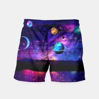 Thumbnail image of space  Swim Shorts, Live Heroes