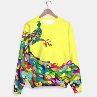 Thumbnail image of Colorful Peacock Sweater, Live Heroes