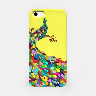 Thumbnail image of Colorful Peacock iPhone Case, Live Heroes