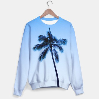 Thumbnail image of palmtree ver.blue Sweater, Live Heroes