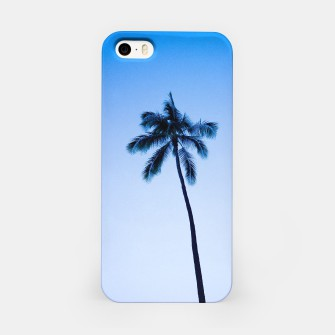Thumbnail image of palmtree ver.blue iPhone Case, Live Heroes
