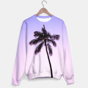 Thumbnail image of palmtree ver.violet Sweater, Live Heroes