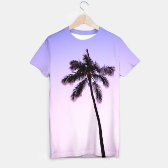 Thumbnail image of palmtree ver.violet T-shirt, Live Heroes