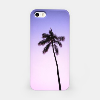 Thumbnail image of palmtree ver.violet iPhone Case, Live Heroes