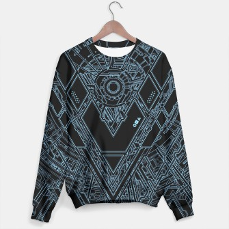Thumbnail image of MECH III ION TRON BLUE SWEATER, Live Heroes