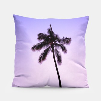 Thumbnail image of palmtree ver.violet Pillow, Live Heroes
