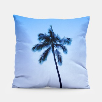 Thumbnail image of palmtree ver.blue Pillow, Live Heroes