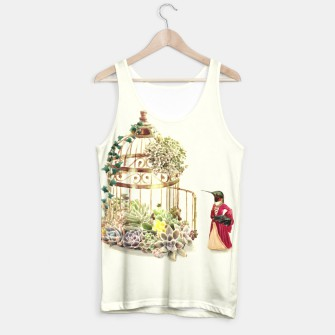 Thumbnail image of Lady Hummingbird Tank Top, Live Heroes