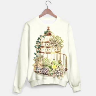Thumbnail image of Flowery Birdcage Sweater, Live Heroes