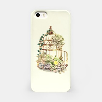 Thumbnail image of Flowery Birdcage iPhone Case, Live Heroes