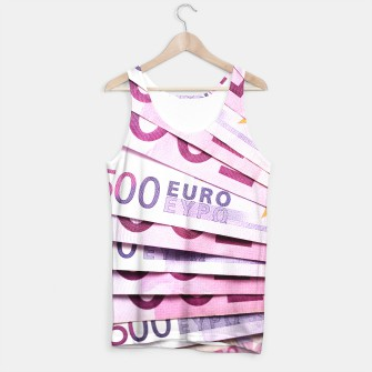 Thumbnail image of 500 Euros Tank Top, Live Heroes