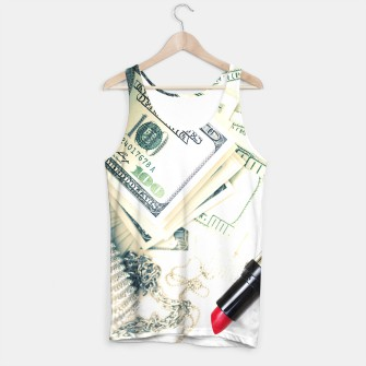 Thumbnail image of Rich Girl Tank Top, Live Heroes