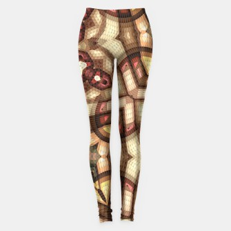 Thumbnail image of Graphic Art Leggings, Live Heroes
