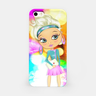 Thumbnail image of Big Eyes Girl iPhone Case, Live Heroes