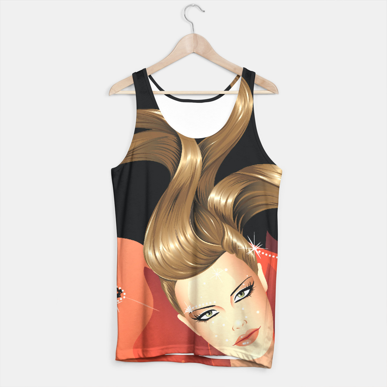 Image of Fashion Model Tank Top - Live Heroes