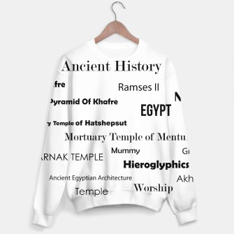 Thumbnail image of Egypt Sweater, Live Heroes