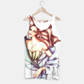 Thumbnail image of Fashion Girl Drawing Tank Top, Live Heroes