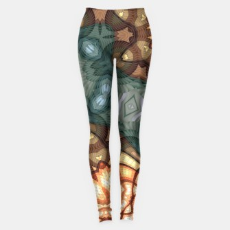 Thumbnail image of Mosaic Flowers Leggings, Live Heroes