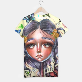 Thumbnail image of Butterfly Pop Surrealism shirt, Live Heroes