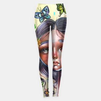 Thumbnail image of Butterfly  Surrealism Leggings, Live Heroes