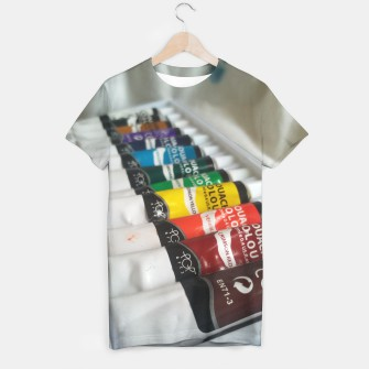 Thumbnail image of The watercolor T-shirt, Live Heroes