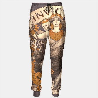 Thumbnail image of INVICTUS sweatpants, Live Heroes