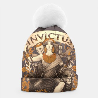 Thumbnail image of Invictus beanie hat, Live Heroes