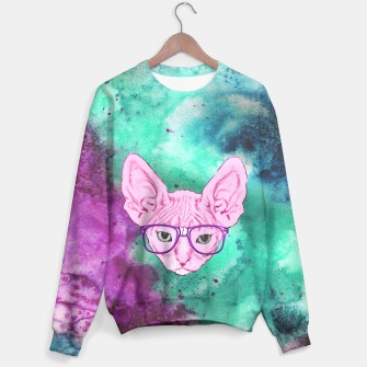 Thumbnail image of Watercolor Nerdy Sphynx, Live Heroes