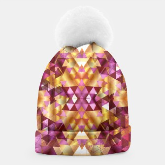 Thumbnail image of Beautiful Geometric Beanie, Live Heroes